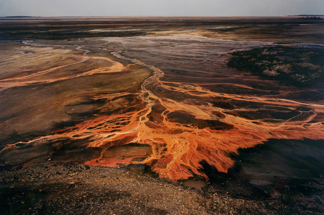 Title: Nickel Tailings #30, Sudbury, Ontario Artist: Edward Burtynsky Year: 1996 Type: Photograph Materials: Chromogenic color print