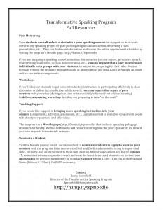 Faculty Handout