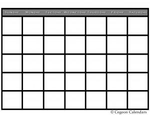 plain_printable_calendar