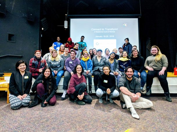 Connect to Transform Retreat Participants
