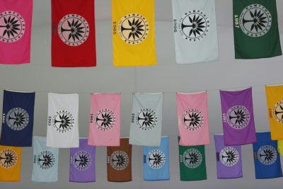 Hampshire Commencement flags