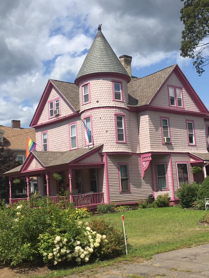 Pink Victorian house is home of Sexual Minorities Archive