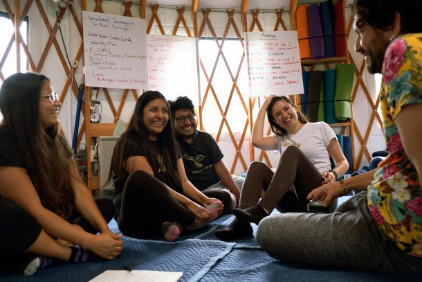 Relational uprising story circle