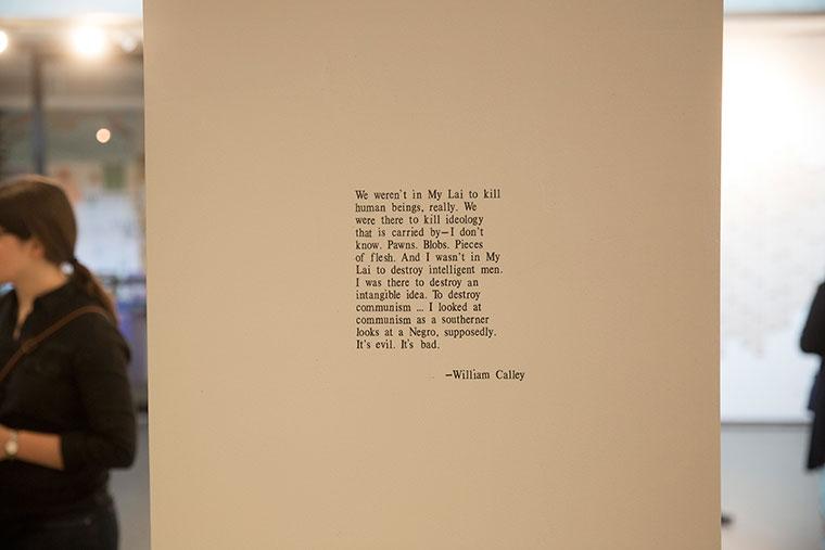 William Calley quote, the hinge