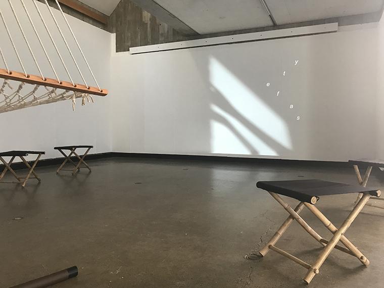 Video installation view