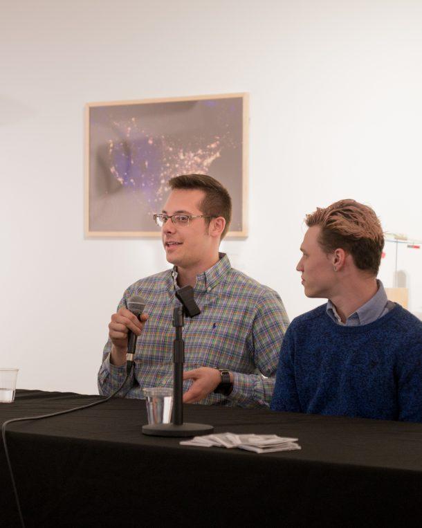 two student panelists