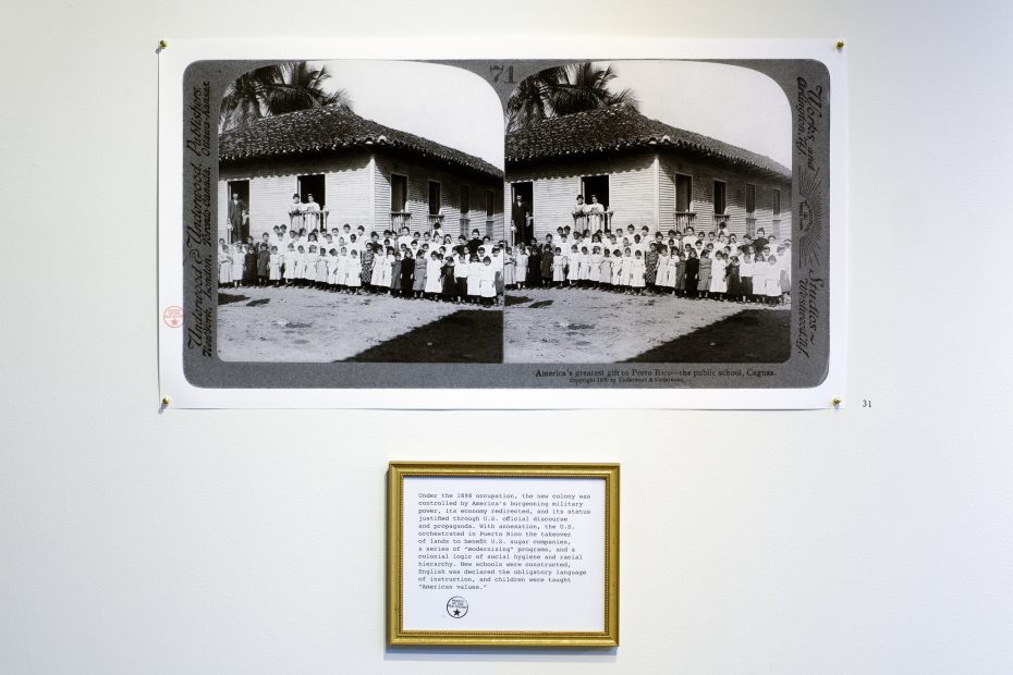 archival image of colonist-founded Puerto Rican school