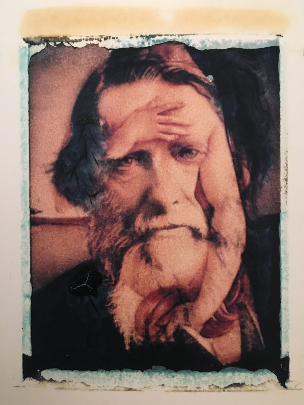 One of Seydel's works. Portrait of John Ruskin, from Memories of Victoriana (3), 1993-97.