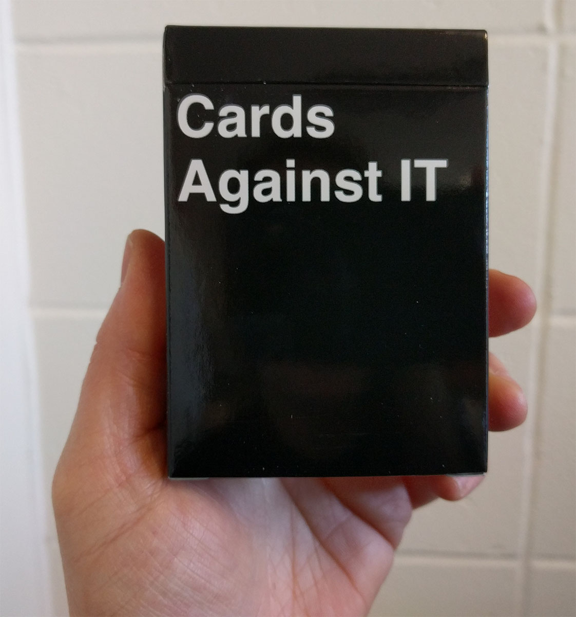 Cards Against IT game