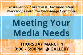 icon for the 'meeting your media needs' info session