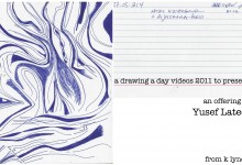 a drawing a day videos 2011 to present