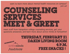 Counseling Services Meet & Greet Color