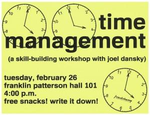 Time Management Color