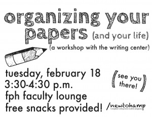 Organizing Your Papers