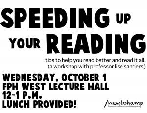 Speeding Up Your Reading