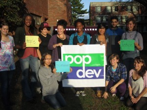 2011 PopDev interns.