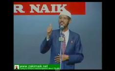 Zakir Naik evolution