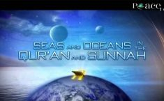 oceans in the quran, Zaghloul El Naggar
