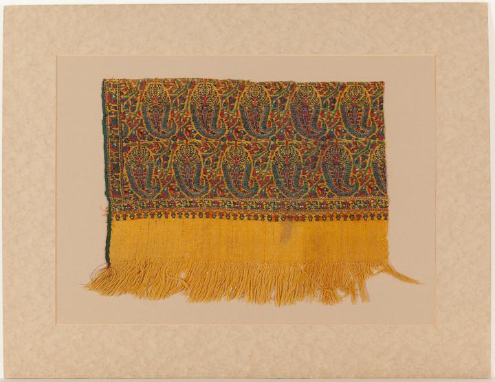 Shawl fragment, AC T-1929-13