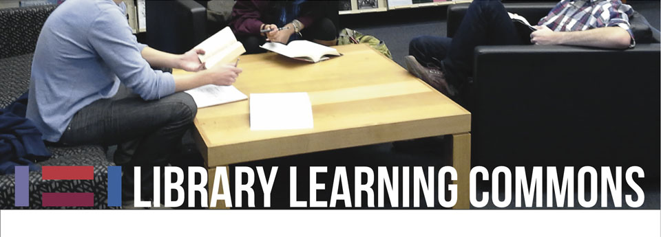 Hampshire College Library Learning Commons Header