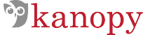 Logo of streaming media website, Kanopy