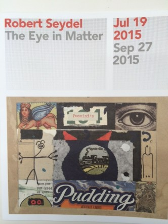 "Program cover for ""The Eye in Matter"" exhibit at the Queens Museum"