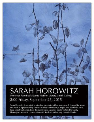 Sarah Horowitz flyer