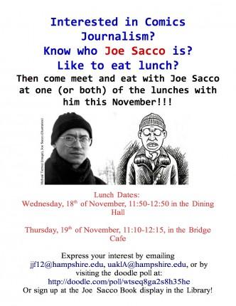 Joe Sacco lunch posterfix