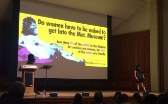 Guerrilla Girls Smith public talk