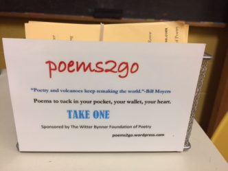 Poems to go