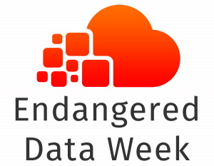 Endangered Data Week Logo