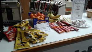snacks at InfoBar