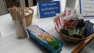 hot beverage service