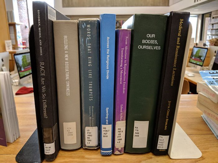 some books written or edited by first generation faculty and staff