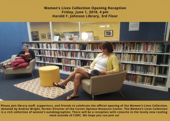 Invitation Women's Lives Collection Opening Reception