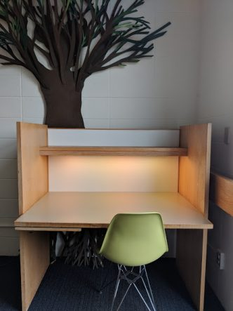 Library Study Carrel