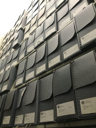 image of archival boxes.