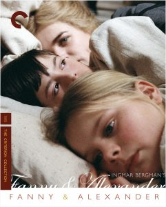 DVD cover of Fanny and Alexander box set