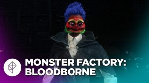 screenshot of character from Bloodborne episode