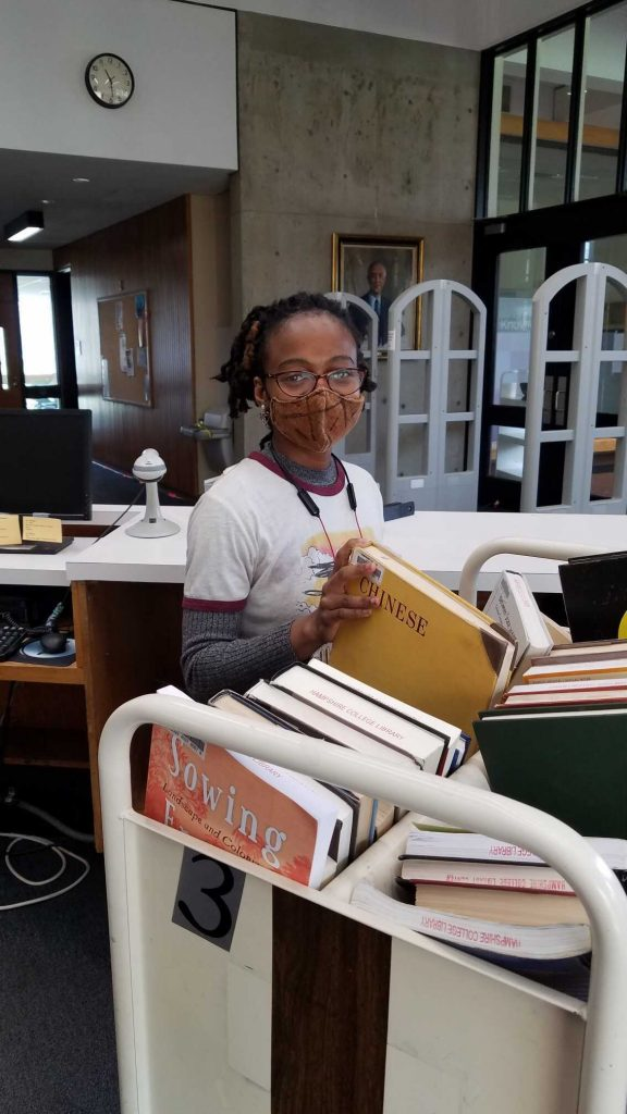Photo of student employee Nyabi