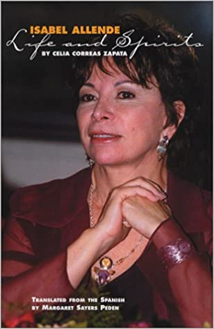 """Cover image of Isabel Allende from the book """"Isabel Allende: Life and Spirits"""""""
