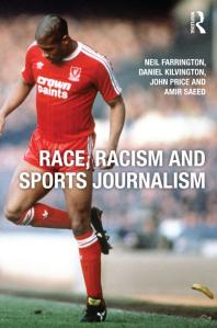 """Cover image for """"Race, Racism and Sports Journalism"""""""