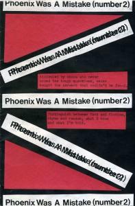 Phoenix Was A Mistake 2
