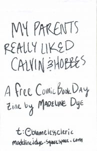 """Cover of """"My Parents Really Liked Calvin & Hobbes"""""""
