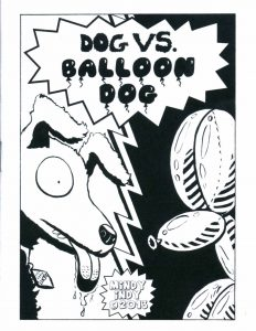 "Cover of ""Dog vs. Balloon Dog"""