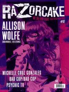"Cover of ""Razorcake #97"""